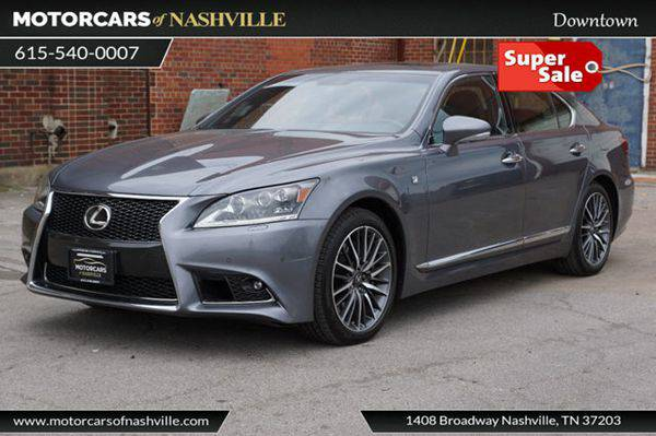 2014 *Lexus* *LS* *460* 4dr Sedan AWD CARFAX CERTIFIED *WE FINANCE!!!*