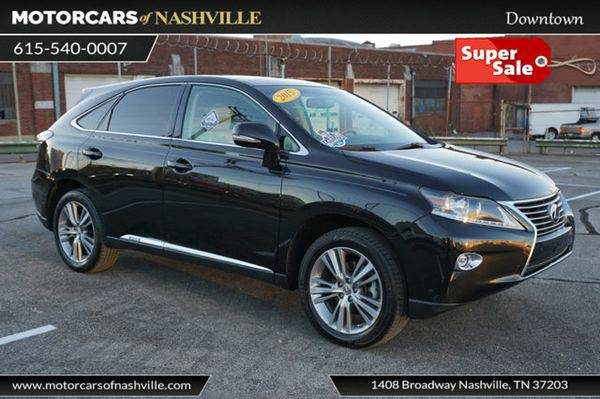 2015 *Lexus* *RX* *450h* CARFAX CERTIFIED *WE FINANCE!!!*
