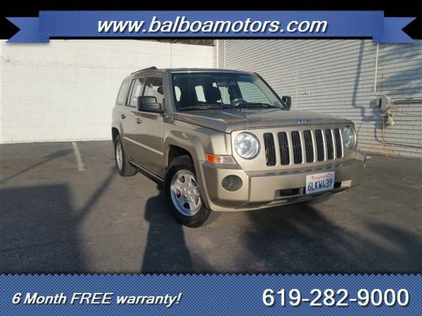 2010 Jeep Patriot Sport + 6 Month FREE Warranty