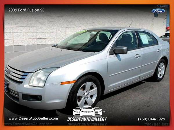 2009 Ford Fusion SE from sale in Palm Desert