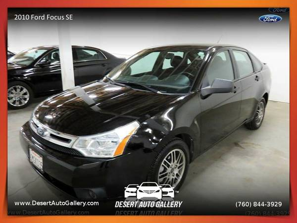 2010 Ford Focus SE Sedan - Clearly a better value!