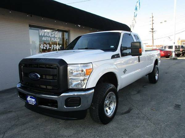2015 Ford F250 SUPER DUTY XL 4X4 - SUPER CAB - LONG BED - 6.7L DIESEL