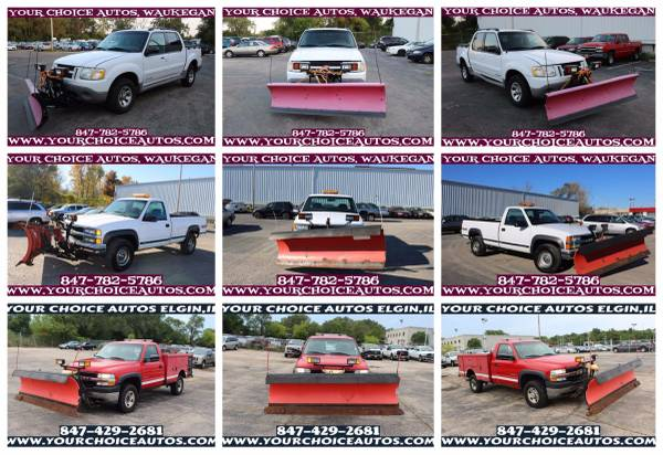 2000-2001-2002*FORD*EXPLORER*CHEVROLET/CHEVI*CK2500*SNOW PLOW A64757