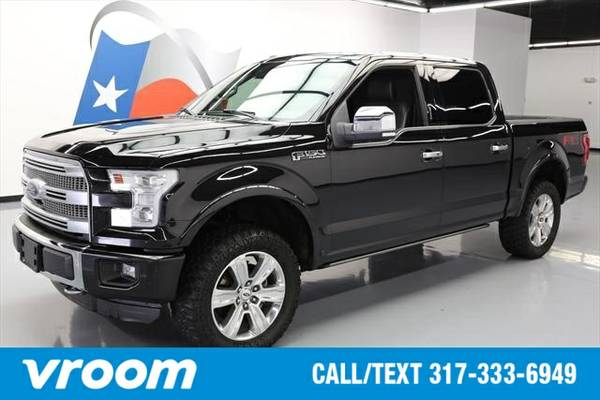 2015 Ford F-150 Platinum 4dr SuperCrew 4WD 7 DAY RETURN / 3000 CARS IN