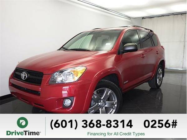 2010 Toyota RAV4 Sport (Barcelona Red Metallic) - Beautiful & Clean...
