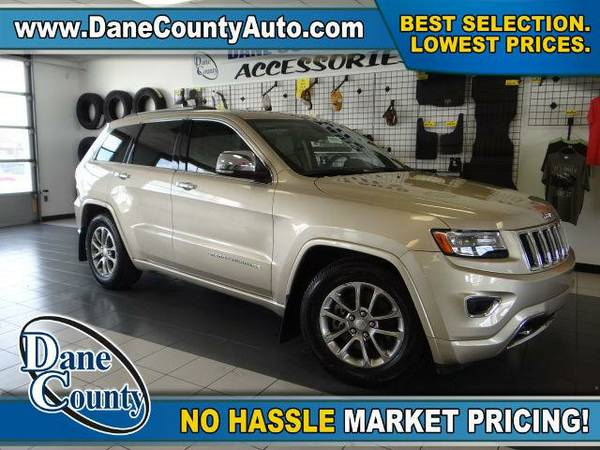 2014 *Jeep Grand Cherokee* Overland - Jeep Cashmere Pearlcoat