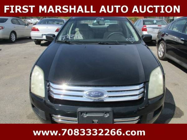 2006 Ford Fusion S - First Marshall Auto Auction