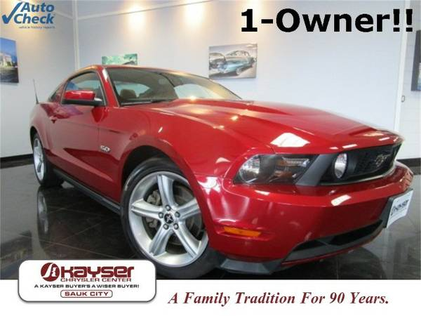 2011 Ford Mustang GT Premium Coupe Mustang Ford