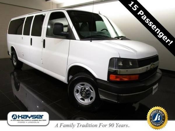 2013 Chevrolet Express Passenger LT Van Express Passenger Chevrolet