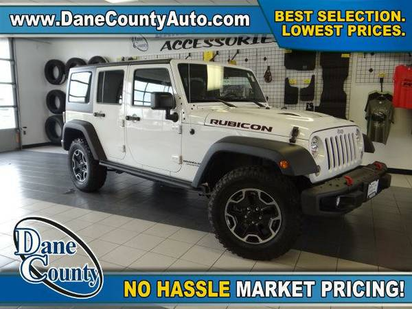 2015 *Jeep Wrangler Unlimited* Rubicon - Jeep Bright White Clearcoat