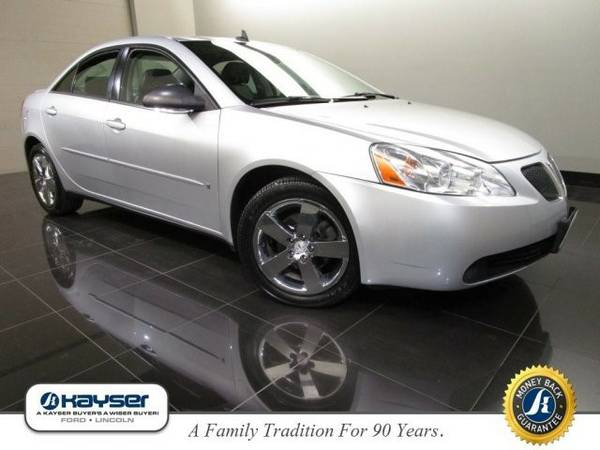 2009 Pontiac G6 GT w/1SA *Ltd Avail* Sedan G6 Pontiac