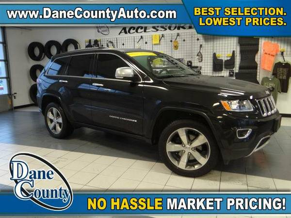 2015 *Jeep Grand Cherokee* Limited - Jeep Brilliant Black Crystal...