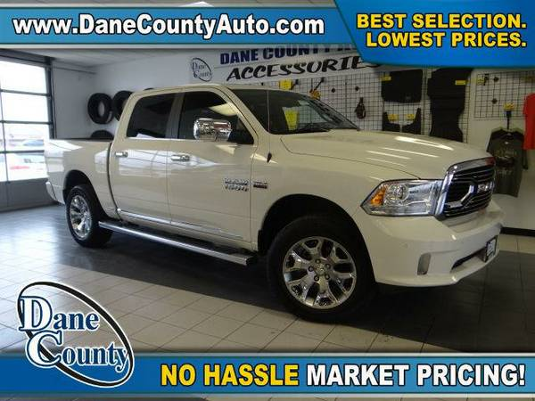 2016 *RAM 1500* Longhorn LIMITED - RAM Pearl White