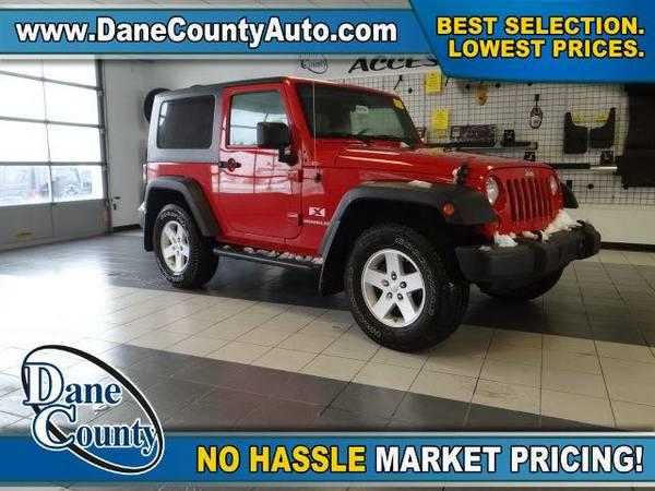 2009 *Jeep Wrangler* X - Jeep Red