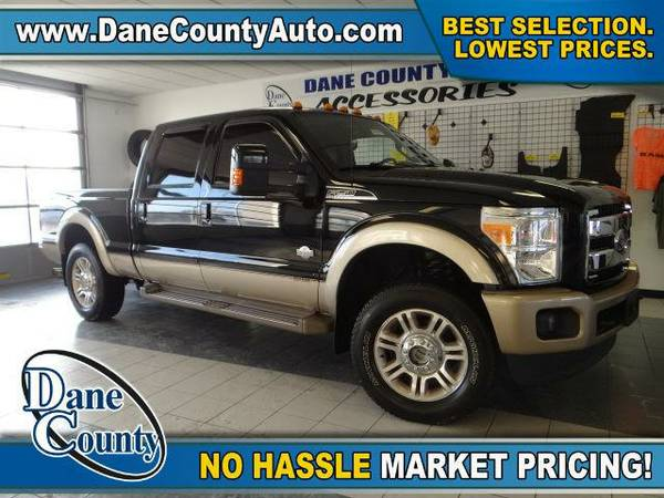 2012 *Ford F-250* King Ranch - Ford Black