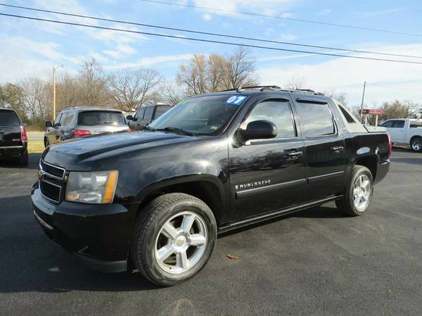2007 Chevrolet Avalanche LTZ*LOADED*4X4*LEATHER*WARRANTY INCLUDED!