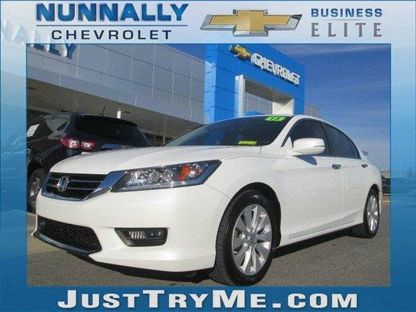 2015 *Honda Accord Sedan* Touring (White)