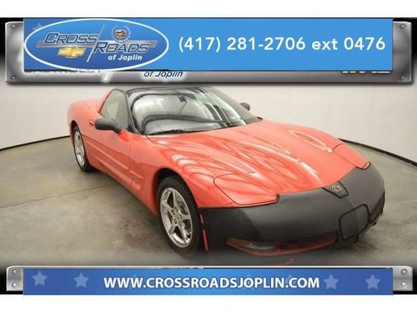 2002 *Chevrolet Corvette* Base (Torch Red)