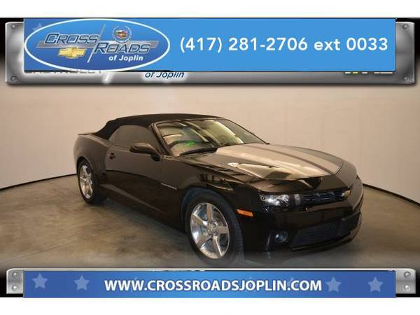 2014 *Chevrolet Camaro* 1LT (Black)