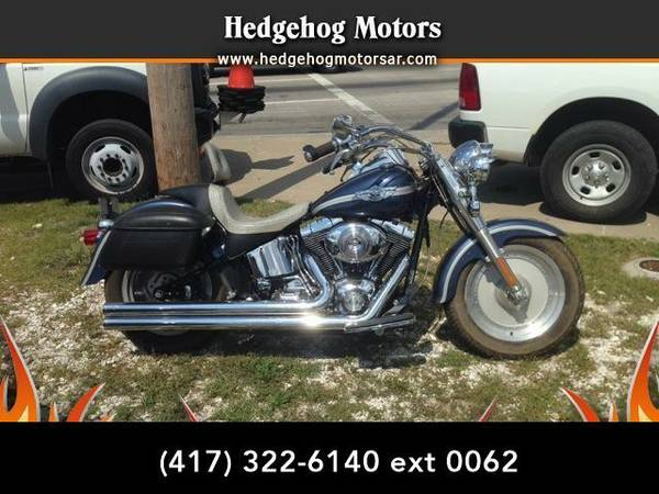 2003 *Harley-Davidson FLSTFI* FATBOY (Blue)