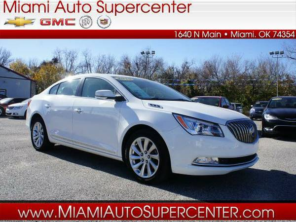 2015 Buick LaCrosse 4dr Car LEATHER