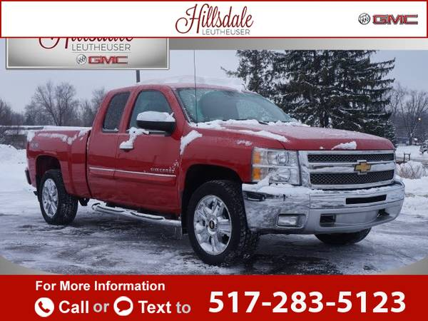 2012 *Chevrolet* *Chevy* *Silverado* *1500* *LT* 73k miles