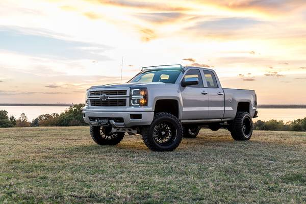 2014 Chevrolet Silverado 1500 LTZ 5.3 4x4 Z71 7 Lift 20 FUEL *LOOK*