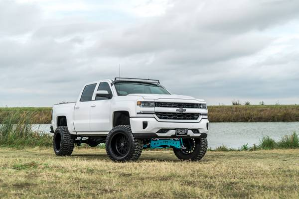 2016 Chevrolet Silverado 1500 LTZ 5.3L 4x4 Z71 7 Lift 20 FUEL *LOOK*