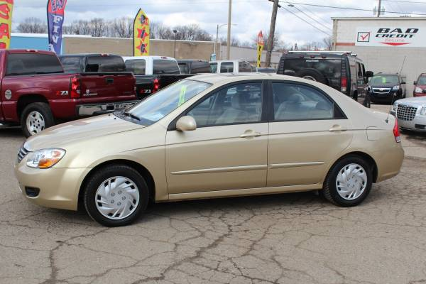 2009 KIA SPECTRA ** 30+ MPG! ** FINANCING FAST FOR ALL CREDIT LEVELS!!