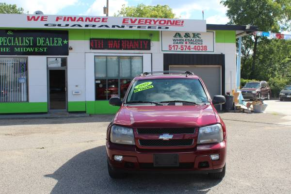 2007 CHEVY TRAILBLAZER ** LT! 4WD! ** BAD CREDIT APPROVALS FAST HERE!!