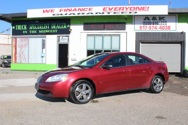 2008 PONTIAC G6 GT^^ LOW MILES! ^^ INSTANT FINANCING FOR ANY CREDIT