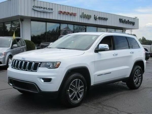 2017 Jeep Grand Cherokee Limited SUV Grand Cherokee Jeep