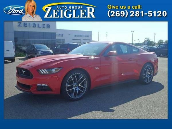 2016 Ford Mustang GT Premium Coupe Mustang Ford