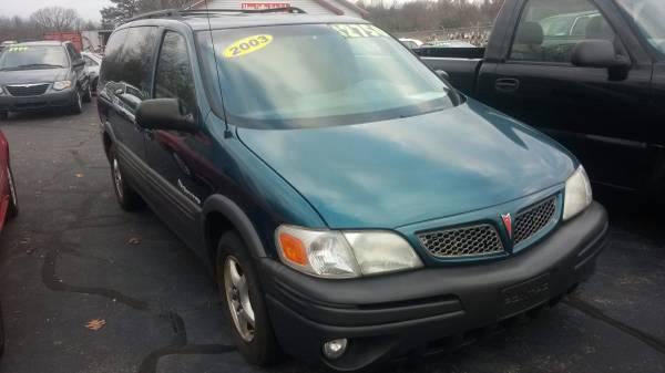 2003 Pontiac Montana Van