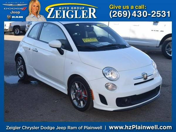 2012 FIAT 500 Abarth Coupe 500 FIAT