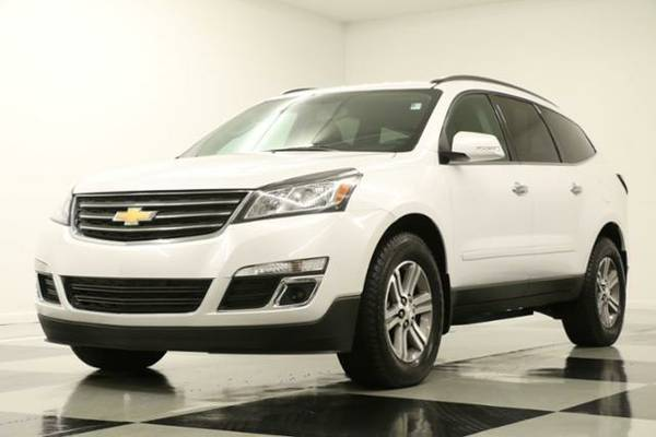 *TRAVERSE AWD - 8 PASSENGER* 2016 Chevy *HEATED Seats - CAMERA*