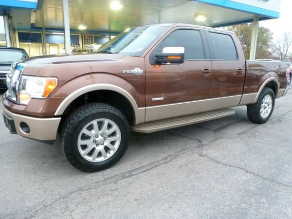 2012 Ford F150 King Ranch SuperCrew Cab...4WD...WARRANTY