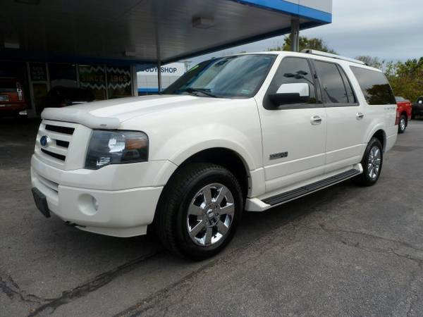 2008 Ford Expedition EL Limited...4WD...DVD...WARRANTY