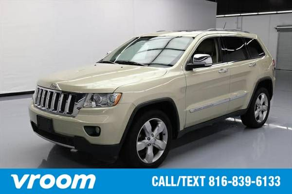 2011 Jeep Grand Cherokee Overland 7 DAY RETURN / 3000 CARS IN STOCK