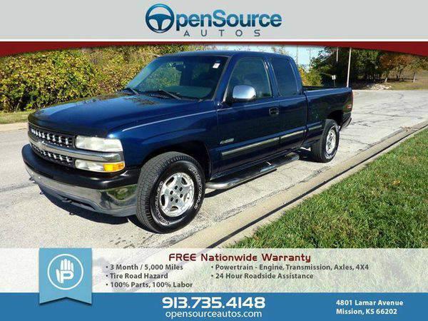 2002 *Chevrolet* *Silverado* *1500* LS 4dr Extended Cab 4WD SB - Pre-O