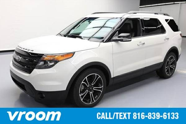 2014 Ford Explorer Sport 7 DAY RETURN / 3000 CARS IN STOCK