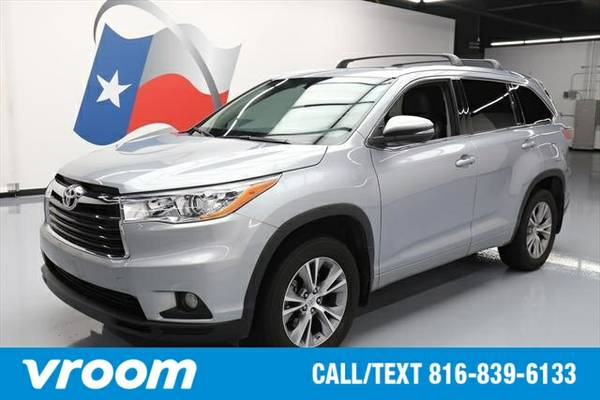 2014 Toyota Highlander XLE 4dr SUV 7 DAY RETURN / 3000 CARS IN STOCK