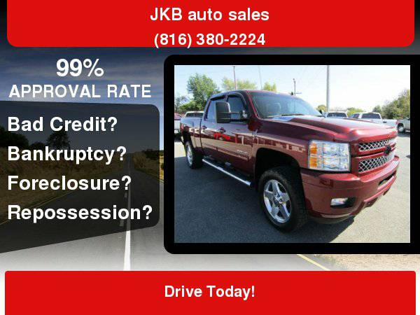 2014 Chevrolet Silverado 2500HD 4WD Crew Cab 153.7 LTZ *We have your...