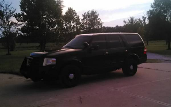 2009 Ford Expedition XLT 4x4 Black Police Package