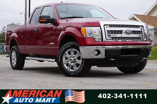 2013 FORD F-150 XLT EXT CAB 4X4**ONLY 29K**ECOBOOST**SUPER CLEAN**