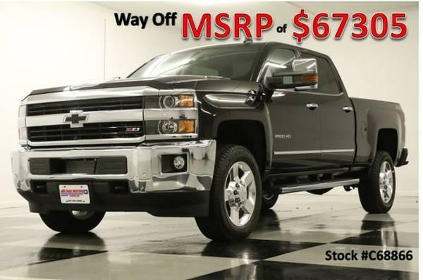 *$11307 OFF MSRP - SILVERADO 2500 HD CREW 4X4* 2016 Chevy *DIESEL - GP