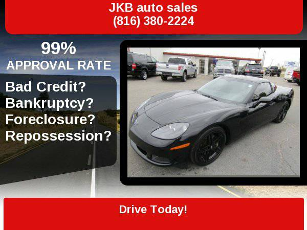 2008 Chevrolet Corvette All Black with Z06 wheel and 24k *200 in...