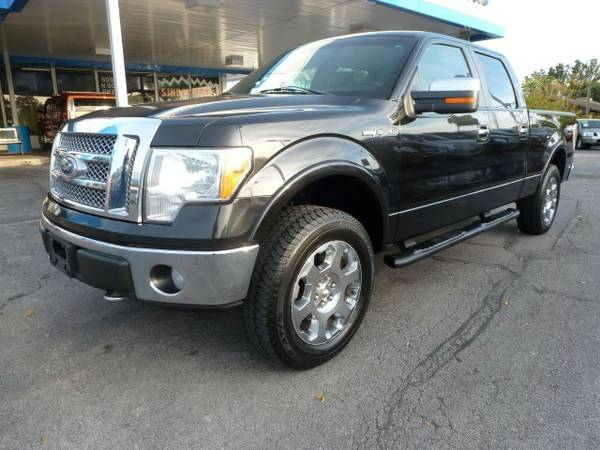 2010 Ford F150 Lariat Super Crew Cab...4WD...WARRANTY
