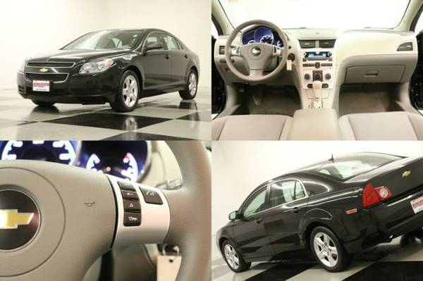 *SPORTY Black MALIBU-BLUETOOTH*2011 Chevy*LOW PAYMENTS-GREAT Condition