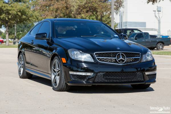 2012 Mercedes-Benz C63 AMG Coupe - 451HP from the Factory - New Tires!